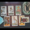 Lá Seven of Wands – Aleister Crowley Thoth Tarot 3