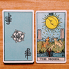 Lá Three of Cups – Aleister Crowley Thoth Tarot 2