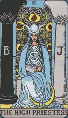 Ý Nghĩa Lá Bài The High Priestess Trong Tarot
