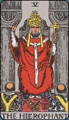 Ý Nghĩa Lá Bài The Hierophant Trong Tarot