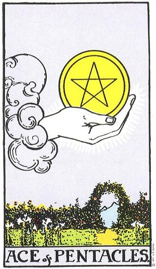ace of pentacle
