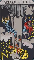 Diễn Giải Xuôi của Lá Bài The Tower