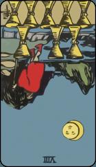 Diễn Giải Ngược của Lá Bài 8 of Cups