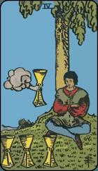 Ý Nghĩa Lá Bài 4 of Cups Trong Tarot