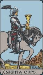 Diễn Giải Xuôi của Lá Bài Knight of Cups