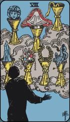 Ý Nghĩa Lá Bài 7 of Cups Trong Tarot