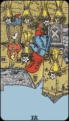 Diễn Giải Ngược của Lá Bài 6 of Cups