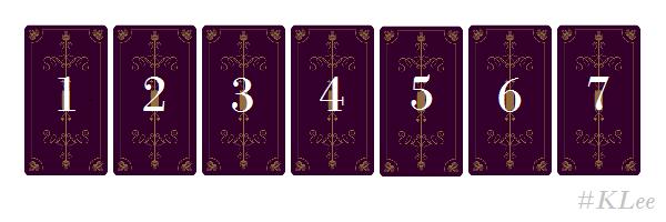Trải Bài tarot – 7 Ngày Trong Tuần