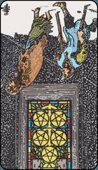 Diễn Giải Ngược của Lá Bài 5 of Pentacles