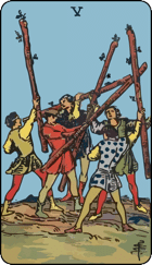 Five of Wands icon
