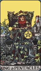 Ý Nghĩa Lá Bài King of Pentacles Trong Tarot