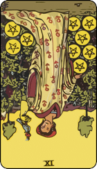 Nine of Pentacles icon