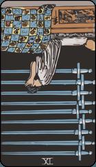 Diễn Giải Ngược của Lá Bài 9 of Swords