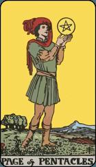 Ý Nghĩa Lá Bài Page of Pentacles Trong Tarot