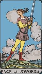 Ý Nghĩa Lá Bài Page of Swords Trong Tarot