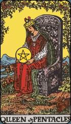 Ý Nghĩa Lá Bài Queen of Pentacles Trong Tarot