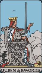 Ý Nghĩa Lá Bài Queen of Swords Trong Tarot