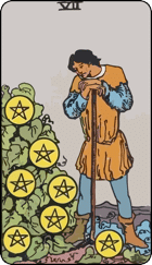Seven of Pentacles icon