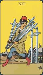 Diễn Giải Xuôi của Lá Bài 7 of Swords
