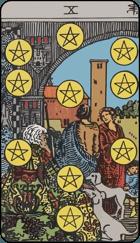 Ý Nghĩa Lá Bài 10 of Pentacles Trong Tarot
