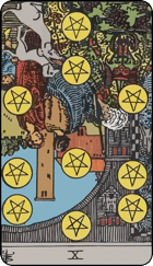 Ten of Pentacles icon