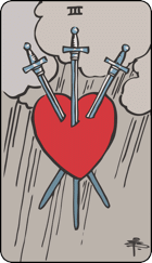 Three of Swords icon