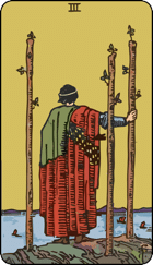 Three of Wands icon