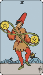 Two of Pentacles icon