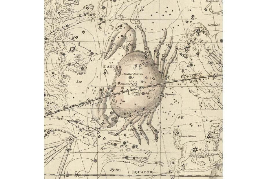 Cancer-Celestial-Atlas-by-Alexander-Jamieson-1822