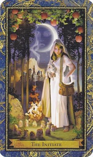 Ý nghĩa lá The Initiate trong bộ bài Wizards Tarot