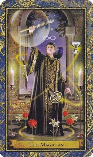 Ý nghĩa lá The Magician trong bộ bài Wizards Tarot