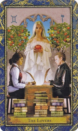 Ý nghĩa lá The Lovers trong bộ bài Wizards Tarot