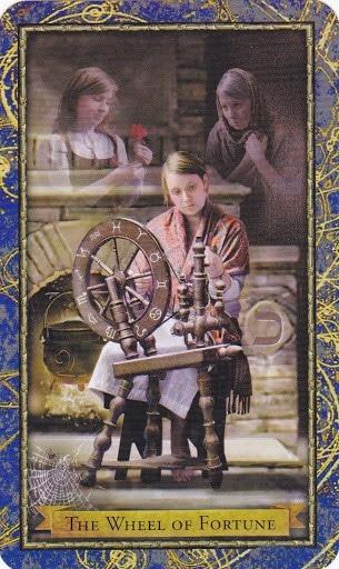 Ý nghĩa lá The Wheel of Fortune trong bộ bài Wizards Tarot