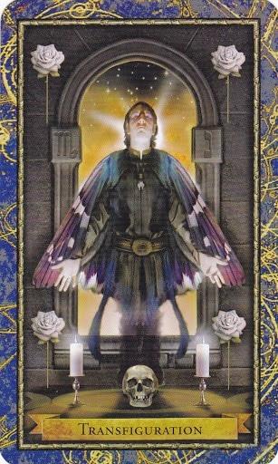 Ý nghĩa lá Transfiguration trong bộ bài Wizards Tarot