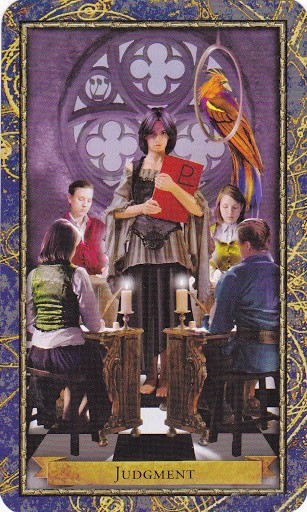Ý nghĩa lá Judgement trong bộ bài Wizards Tarot