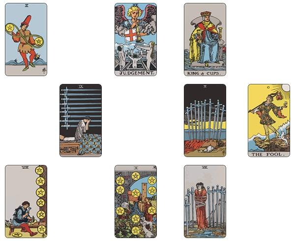 Trải Bài Tarot Mẫu: Mối Quan Hệ Đã Kết Thúc