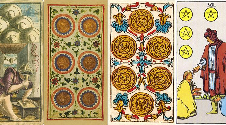 Six of Pentacles: Mặt Trời tại Kim Ngưu