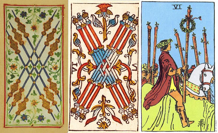 Six of Wands: Mặt Trời tại Sư Tử 1