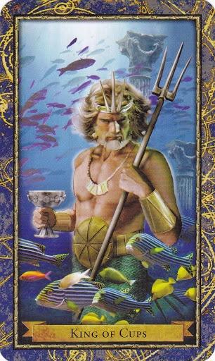 Ý nghĩa lá King of Cups trong bộ Wizards Tarot