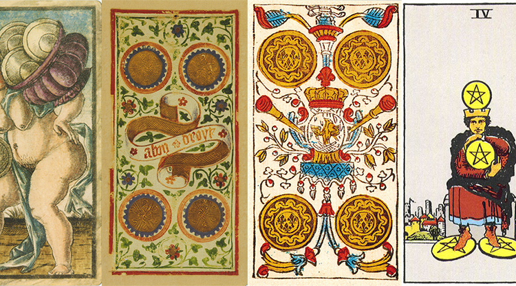 Four of Pentacles: Sao Mộc tại Ma Kết