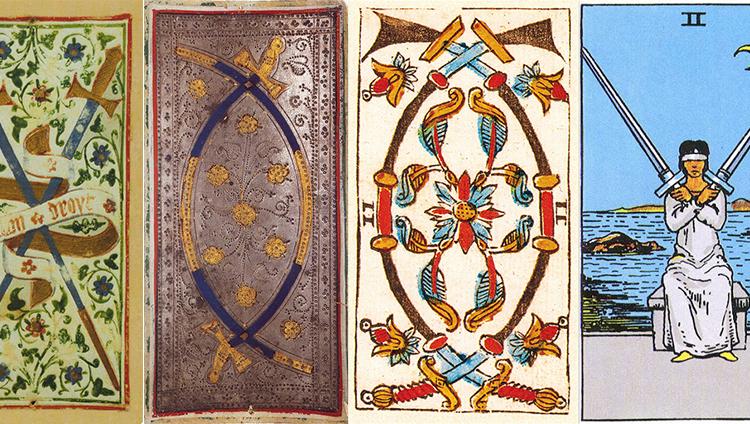 Two of Swords: Sao Thiên Vương tại Thiên Bình