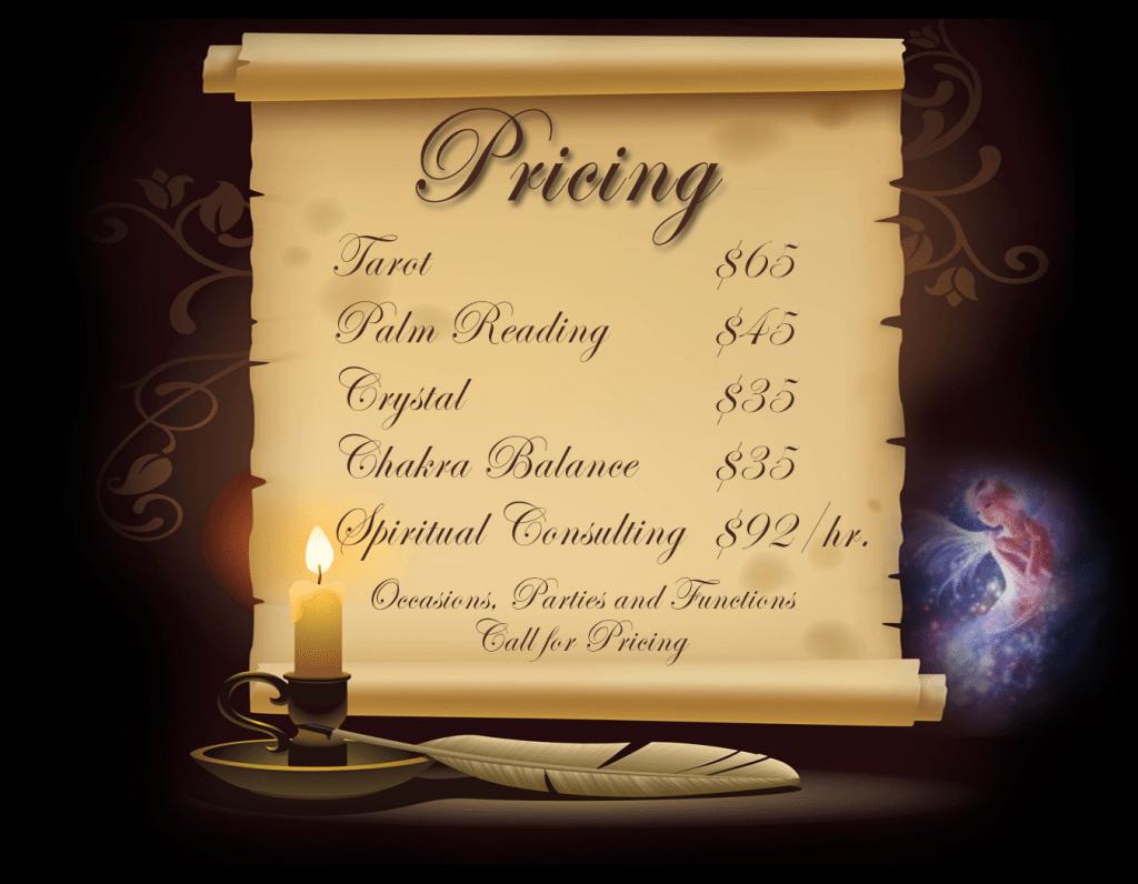 tarot price