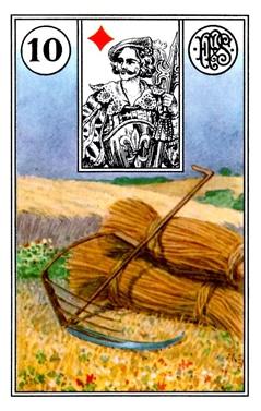 Ý Nghĩa Lá Bài Lenormand Scythe (10)