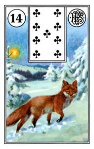 Lenormand 14 Fox