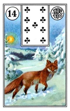 Ý Nghĩa Lá Bài Lenormand Fox (14)
