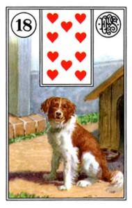 Lenormand 18 Dog