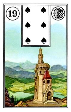 Kết Hợp Lá Bài Lenormand Tower (19)