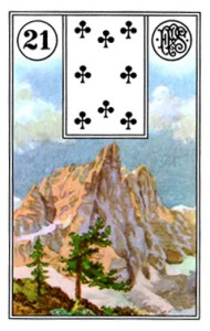 Lenormand 21 Mountain
