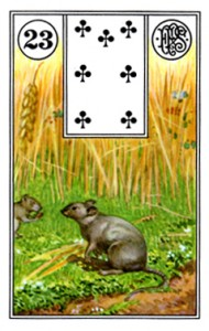 Lenormand 23 Mice