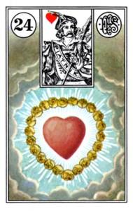 Lenormand 24 Heart